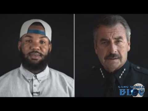'We Have to Stop Killing One Another,' The Game Says in Video With LAPD Chief Beck