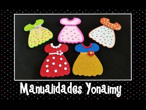 tutorial foamy - vestitino elegante per bambina