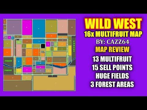 Wild West 16x map v1.0