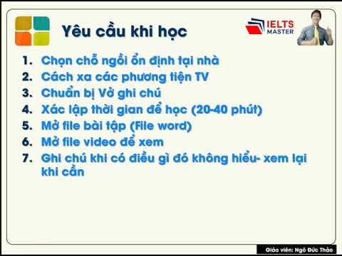 Chuyên Đề: Điền từ (THPTQG) - THCS & THPT Phạm Ngũ Lão và IELTS Master HCM