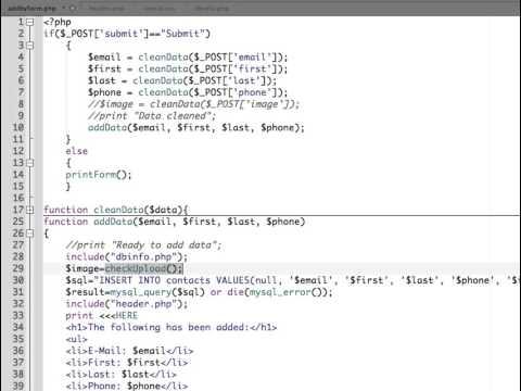 PHP MySQL – File Upload and MySQL Database