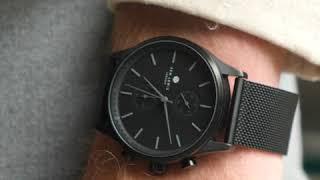 Sem Lewis Metropolitan Northwick Park men's chronograph watch black/black
