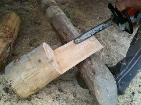 Izrada vrtne stolice - Making wood chair