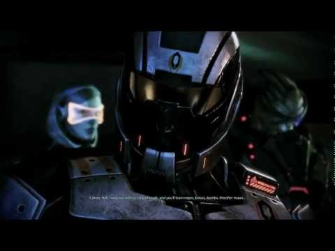 Mass Effect 3 Citadel DLC: EDI jokes about homicidal synthetics (видео)