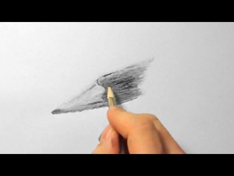 Bleistift, zeichnen im Zeitraffer (Pencil, drawing in fast motion)[HD]