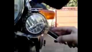 Faro Adaptativo Con Giroscopio En Moto