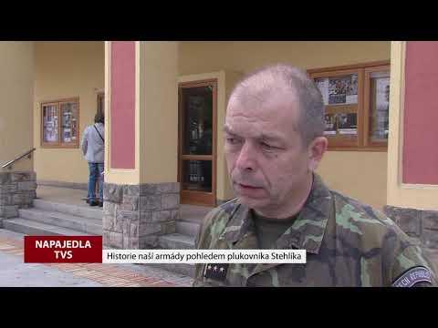 TVS: Napajedla - Beseda s plukovníkem Stehlíkem
