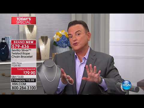 HSN | Sevilla Silver Jewelry 01.18.2018 - 01 AM