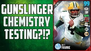 (Mythbusting Madden 17) What does Brett Favre's Gunslinger Chemistry do?