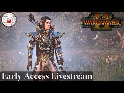 Total War Warhammer 2 - Queen and the Crone Live Stream