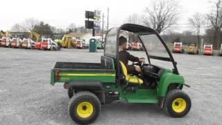 4. John Deere Gator HPX Diesel Utility Vehicle