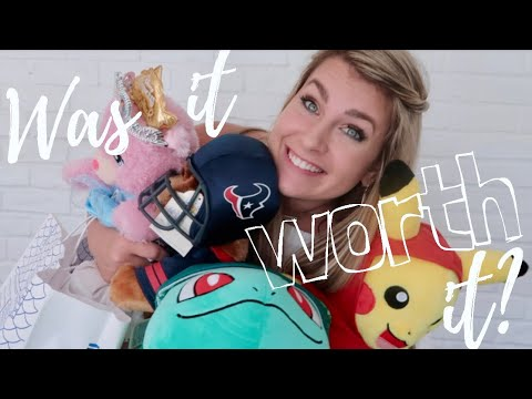 BUILD-A-BEAR PAY YOUR AGE DAY WITH 4 KIDS! | WAS IT EVEN WORTH IT?! // pink after blue