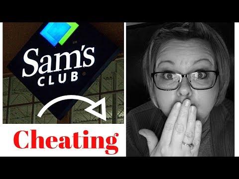 Caught Cheating... At Sam's Club