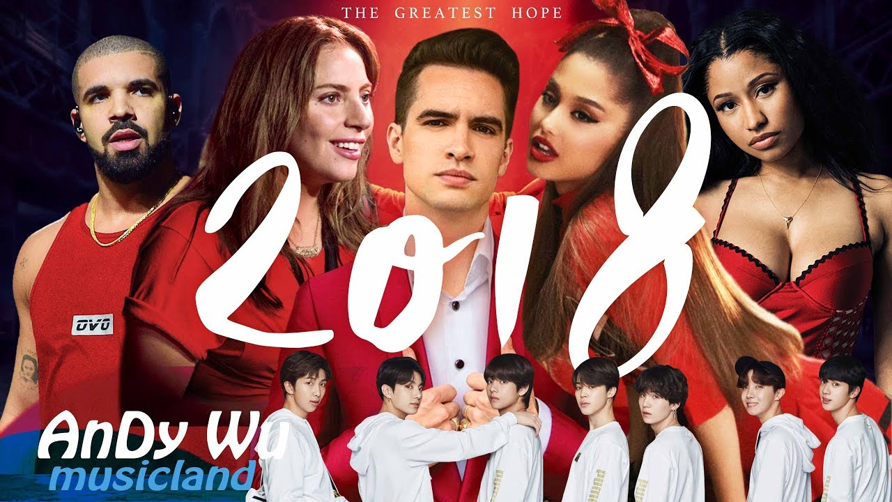 """MASHUP 2018 """"THE GREATEST HOPE"""" - 2018 Year End Mashup by #AnDyWuMUSICLAND (Best 144 Pop Songs) - YouTube"""