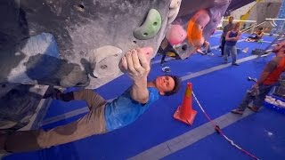 Fredrik Is Crushing A V11 This Bouldering Session! by Eric Karlsson Bouldering