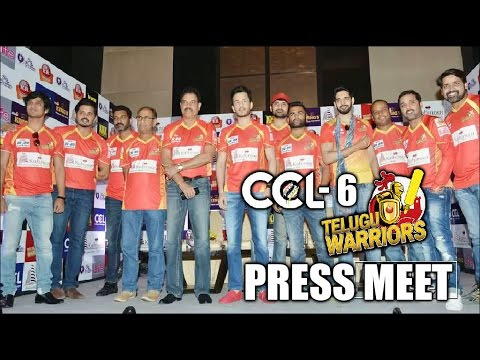 CCL6 Telugu Warriors Press Meet