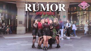 [KPOP IN PUBLIC CHALLENGE] PRODUCE48 (프로듀스48) - Rumor
