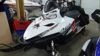 7. 2009 Polaris Switchback Dragon 800 that we are parting out!