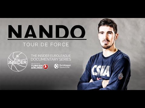 "The Insider EuroLeague Documentary trailer: ""Nando: Tour de Force"""