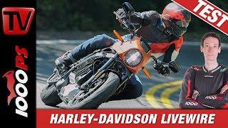 4. Test Harley-Davidson LiveWire 2019! Ganz untypisch für Harley!