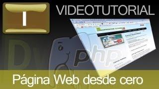 curso gratis online de Dreamweaver y PHP