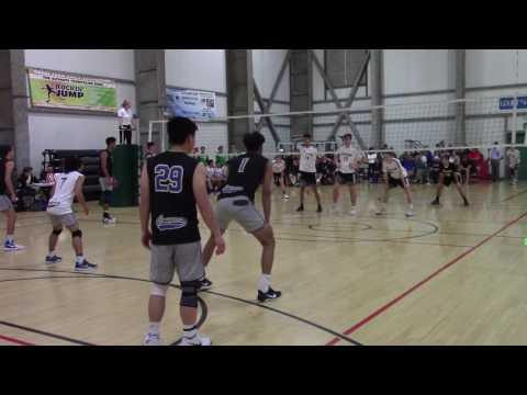 Clovis High Boys Volleyball vs Westview 03-11-17 Set 2
