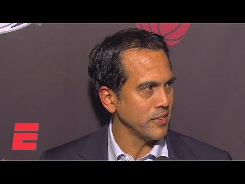 Video: Erik Spoelstra sounds off on Warriors' double-dribble: 'That should be a violation' | NBA Sound