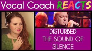 Video Vocal Coach reacts to Disturbed singing The Sound Of Silence MP3, 3GP, MP4, WEBM, AVI, FLV Maret 2019