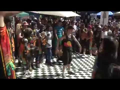 Sydney Road Street Party 2015 Oxygen Stage
