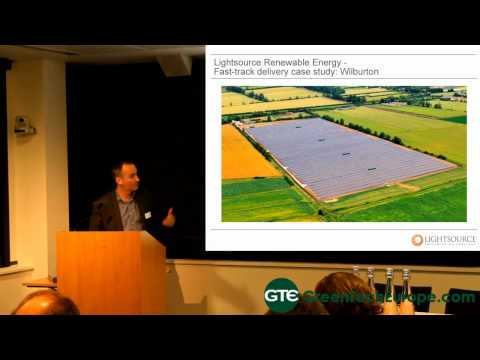 Large-scale Solar, by Conor McGuigan (Lightsource Renewable Energy)
