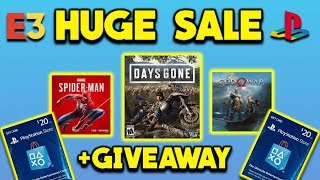 MASSIVE PlayStation Days of Play Sale Highlights - Discounts on New Games & E3 Giveaway Info!
