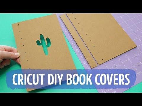 DIY Chipboard Book Covers with Cricut Maker  Sea Lemon