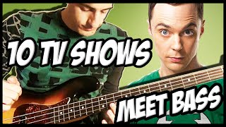 Video 10 Famous TV Shows Meet Bass MP3, 3GP, MP4, WEBM, AVI, FLV Maret 2019