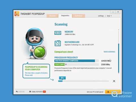 Let's have a look at TweakBit PCSpeedUp