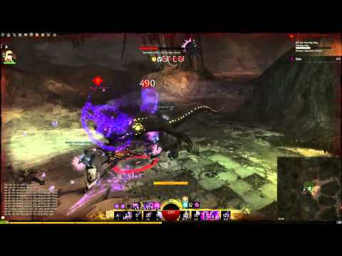 Guild Wars 2 | Mesmer Solo - Ascalonian Catacombs Path 1 The Howling King