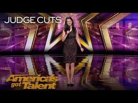Carmen Lynch: New York Comedian Hilariously Describes Dream Analysis - America's Got Talent 2018