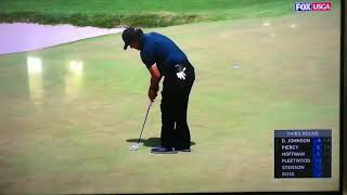 שוק בעולם הגולף: הכוכב פיל מיקלסון החמיץ רץ וחבט שוב בכדור