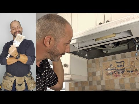 DIY  How to Replace a Kitchen Hood Fan