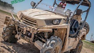 4. Lone Star Warriors Outdoors Military built 2012 Kawasaki Teryx. Muddin' for the Military