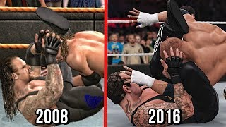 The evolution of The Undertaker submission finisher which he used since 2008 which feature in WWE Games from SVR 2009 to WWE 2K17.Subscribe to Bestintheworld https://goo.gl/bh0dMlFollow me on Twitter https://goo.gl/g2hpKr