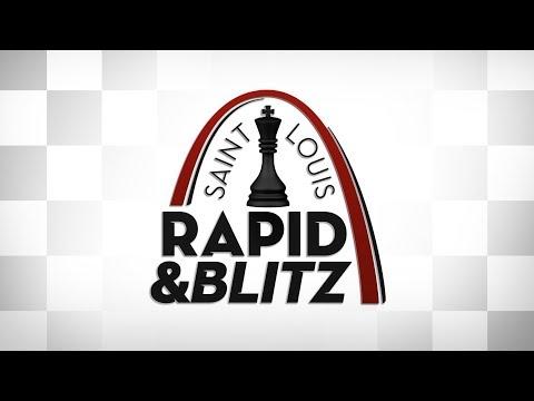 2018 Saint Louis Rapid & Blitz: Blitz Rounds Day 5 (видео)