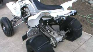 6. 2007 Raptor 700r GYTR edition with Barker Dual exhaust clip