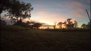 Chinchilla Australia  city images : GoPro Hero 4 Sunrise Time Lapse: Chinchilla Australia