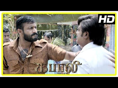 Kabali Tamil Movie   Kishore Scenes   Rajinikanth   Dhansika   Radhika Apte   Kalaiyarasan   Dinesh