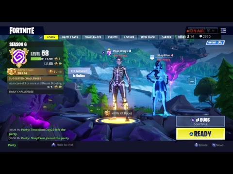 **ITEM SHOP UPDATE!** FORTNITE LIVE WITH PIXIE WINGS
