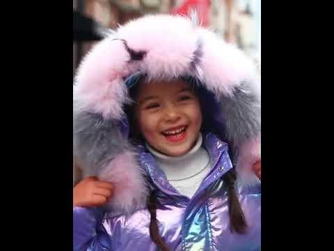 30 зимнее пальто для девочек в русском стиле; одежда; водонепроницаемая парка; к… видео