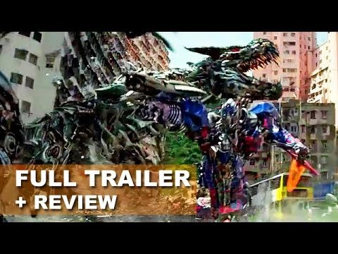 review trailer - Transformers 4 Age of Extinction debuts its official trailer 2 for 2014! Watch it today with a trailer review! http://bit.ly/subscribeBTT Transformers 4 Age ...