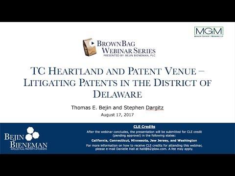 TC Heartland and Patent V…
