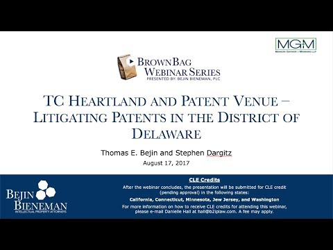 TC Heartland and Patent V…