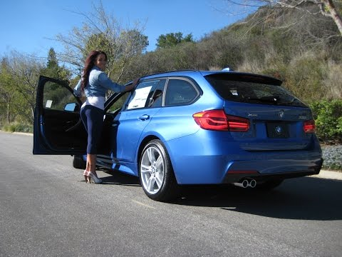 New BMW 330i Xdrive Sport Wagon / M Sport Package / Exhaust Sound / BMW Review